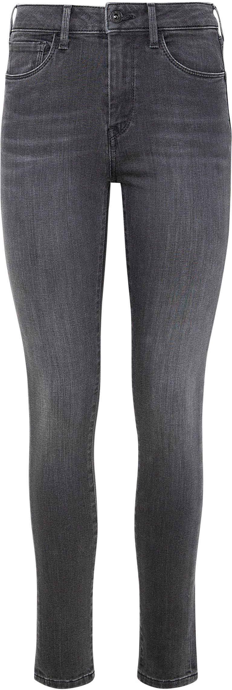 Pepe Jeans Röhrenjeans »REGENT« Skinny Passform mit hohem Bund in seidig bequemem Stretch Denim