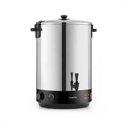 Klarstein Einkochautomat KonfiStar 40 Einkochautomat Getränkespender 2500W 40L 110°C 120min Edelstahl, 2500 W