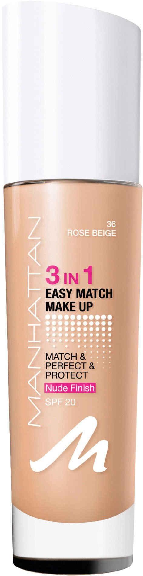 MANHATTAN Foundation »3in1 Easy Match Make Up«