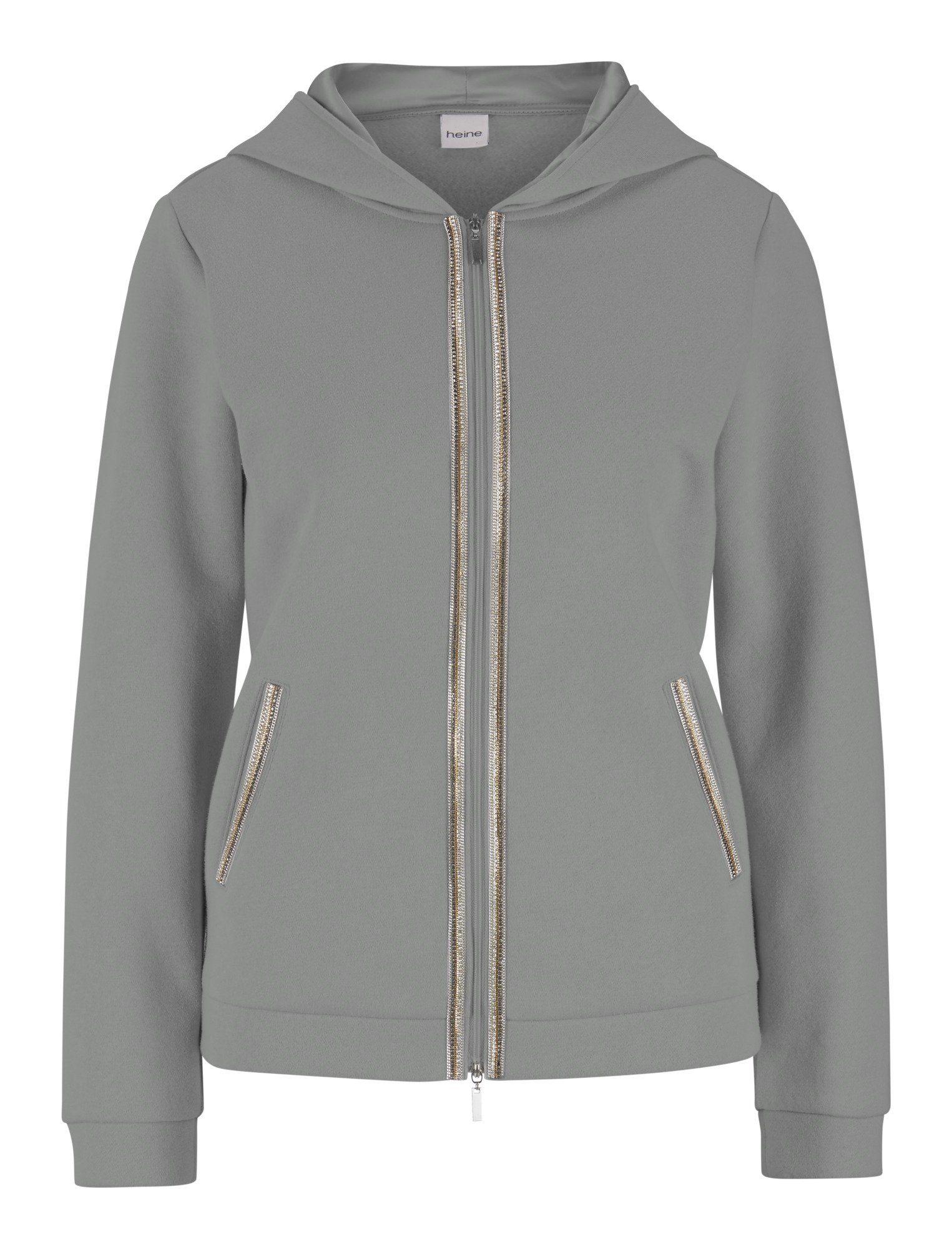 Heine Casual Shirtjacke Aus Sweatqualität Kaufen