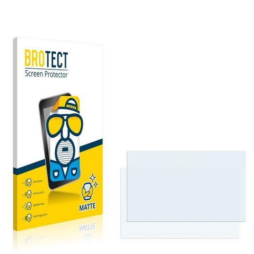 BROTECT Schutzfolie »für Fujitsu Siemens Lifebook P1610«, (2 Stück), Folie Schutzfolie matt entspiegelt