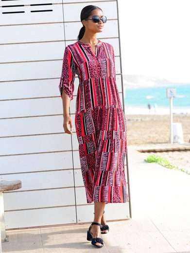 Alba Moda Strandkleid in Streifenoptik