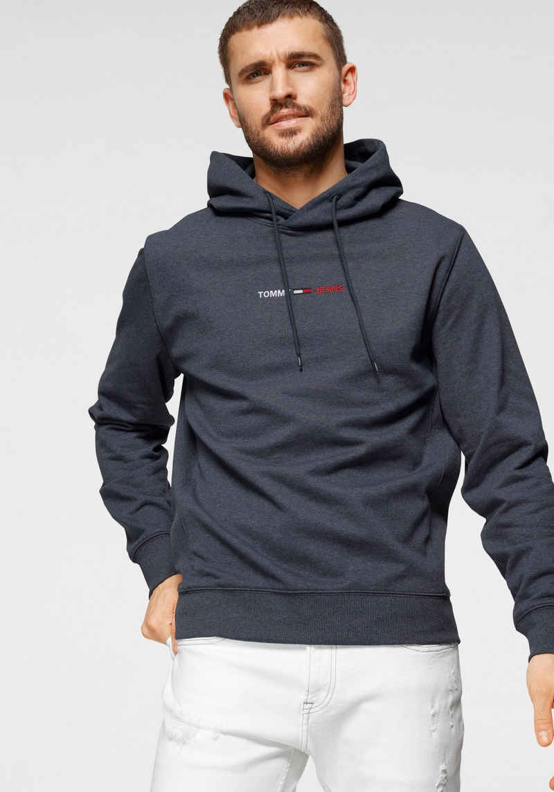 Tommy Jeans Kapuzensweatshirt »TJM STRAIGHT LOGO HOODIE«
