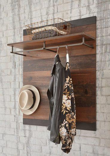 Home affaire Garderobenpaneel »Brooklyn«, in dekorativer Rahmenoptik