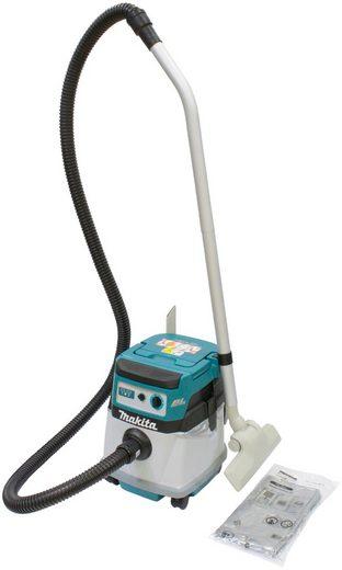 Makita Nass-Trocken-Akkusauger DVC152LZ, 90 Watt, mit Beutel, 15 l, ohne Akku & Kabel