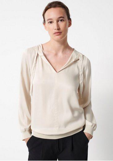 someday Shirtbluse »Zuena« mit weicher Kapuze