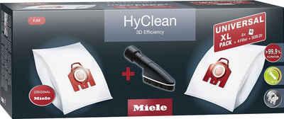 Miele Staubsaugerbeutel XL-Pack HyClean 3D Efficiency FJM, passend für Miele