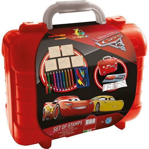 Disney Cars Malvorlage »CARS 3 Travel Set«