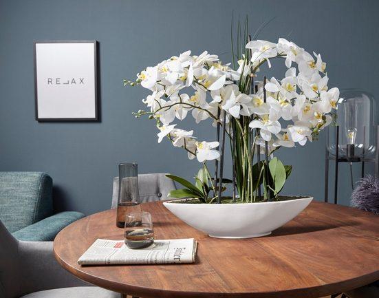 Kunstpflanze Orchidee, Creativ green, Höhe 70 cm