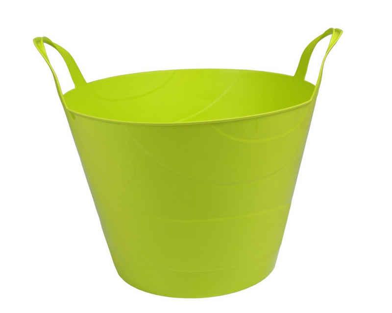 ONDIS24 Wäschekorb »Kleiderkorb Flexi Tub Billy 30 L limette«, elastisch, reißfest, nestbar, für flüssige und feste Stoffe