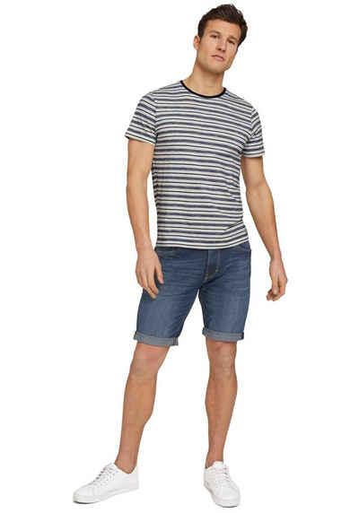 TOM TAILOR Jeansshorts mit modischen Waschungen