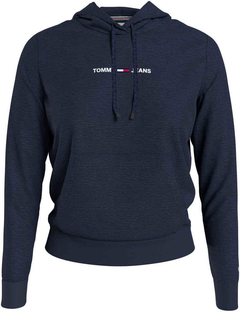 Tommy Jeans Kapuzensweatshirt »TJW LINEAR LOGO HOODIE« mit Tommy Jeans Linear Logo-Schrfitzug