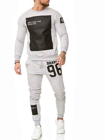 Code47 Jogginganzug »598« (Sportanzug Trainingsanzug Fitnessanzug, Sportswear TrackSuit Sweat)