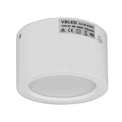 VBLED LED Aufbaustrahler »VBLED LED Aufbauleuchte in weiß 3K«
