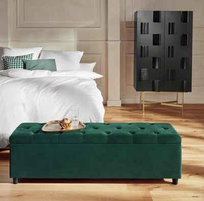 Guido Maria Kretschmer Home&Living Bettbank »Relaxy«, gesteppt, mit Staufach