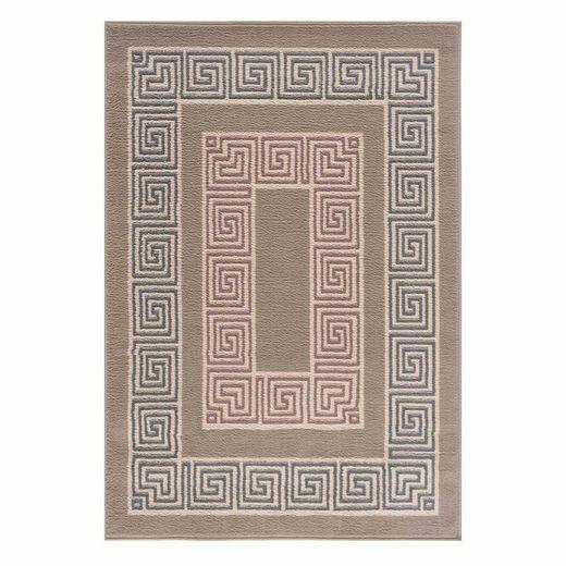 Designteppich »Florhöhe ca. 5mm Moderner Designteppich«, Giantore
