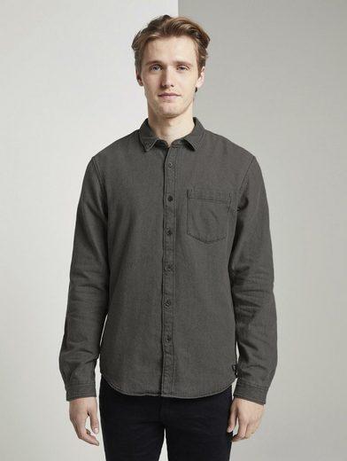 TOM TAILOR Denim Langarmhemd »Jeanshemd«