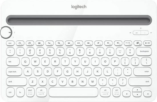 Logitech »Bluetooth Multi-Device Keyboard K480 Black« PC-Tastatur