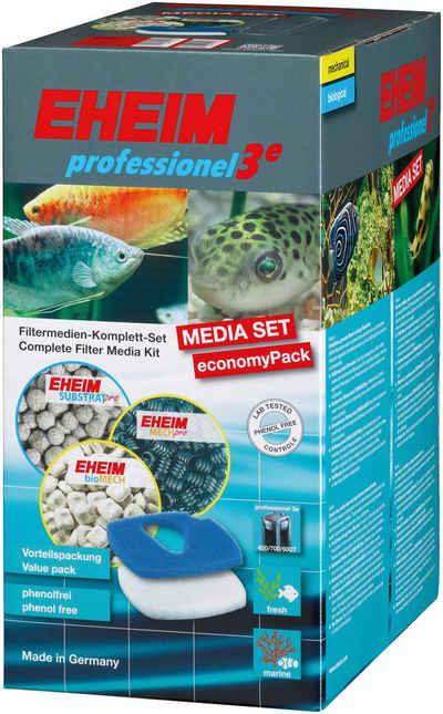 EHEIM Filtersubstrat »MEDIA SET professionel 3e 450/700/600T«, für Aquarienpumpe EHEIM Professionel 3e450, EHEIM Professionel 3e700, EHEIM Professionel3e600T mit Meerwasser/Süßwasser, (Set)