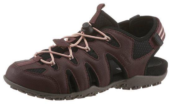 Geox »DONNA SANDAL STREL« Sandale mit Klettriegel an der Ferse