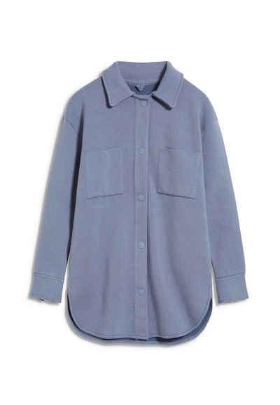 Armedangels Blouson »ALMARAA Damen Overshirt aus Bio-Baumwoll Mix« (1-St)