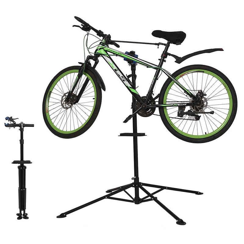Mucola Fahrrad-Montageständer »Fahrradständer 360° drehbar Fahrradmontageständer höhenverstellbar Reparaturständer Zentrierständer«