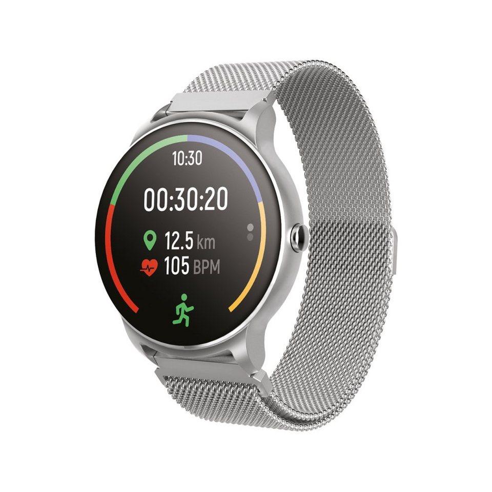 Bluetooth Wasserdicht Smartwatch Sport Pulsuhr Blutdruck Fitness Tracker Armband