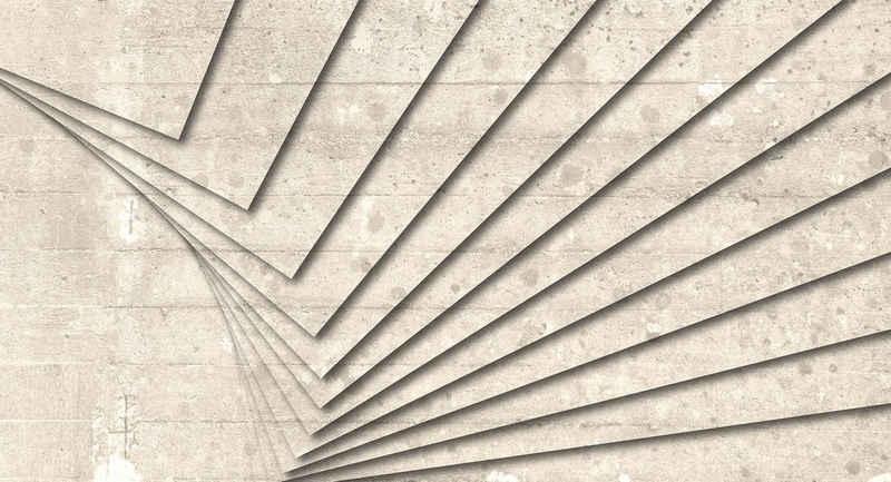 Architects Paper Fototapete »Atelier 47 Concrete Art 2«, glatt, Steinoptik, (5 St)