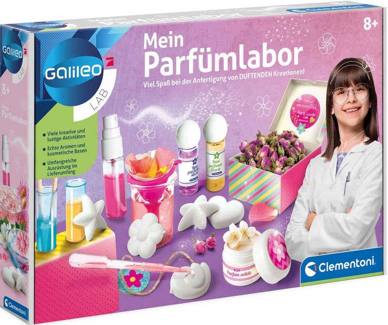 Clementoni® Experimentierkasten »Galileo Mein Parfümlabor«, Made in Europe