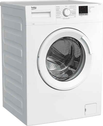 BEKO Waschmaschine WML61223N1, 6 kg, 1200 U/min, LED-Display