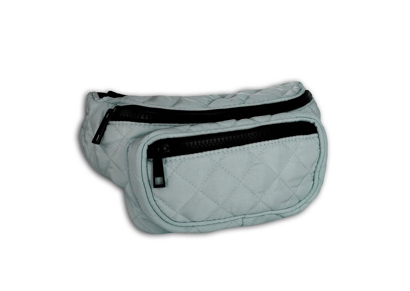 new bags -  Gürteltasche »OTD5026X  Damen Hüfttasche Gürteltasche« (Gürteltasche), Damen, Jugend Tasche silber, grau, ca. 24cm x ca. 10cm