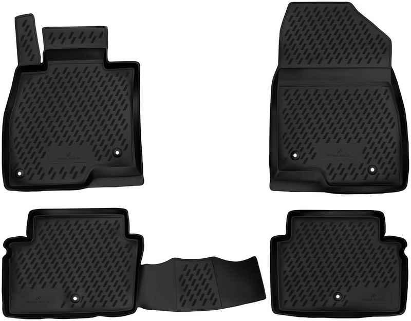 WALSER Passform-Fußmatten »XTR« (4 Stück), für Ford Kuga II Bj 05/2012 - Heute