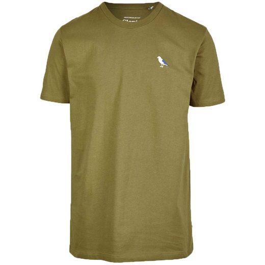Cleptomanicx T-Shirt Embro Gull