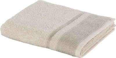 Möve Handtücher »Wellbeing« (1-St), aus Bio-Baumwolle und Leinen