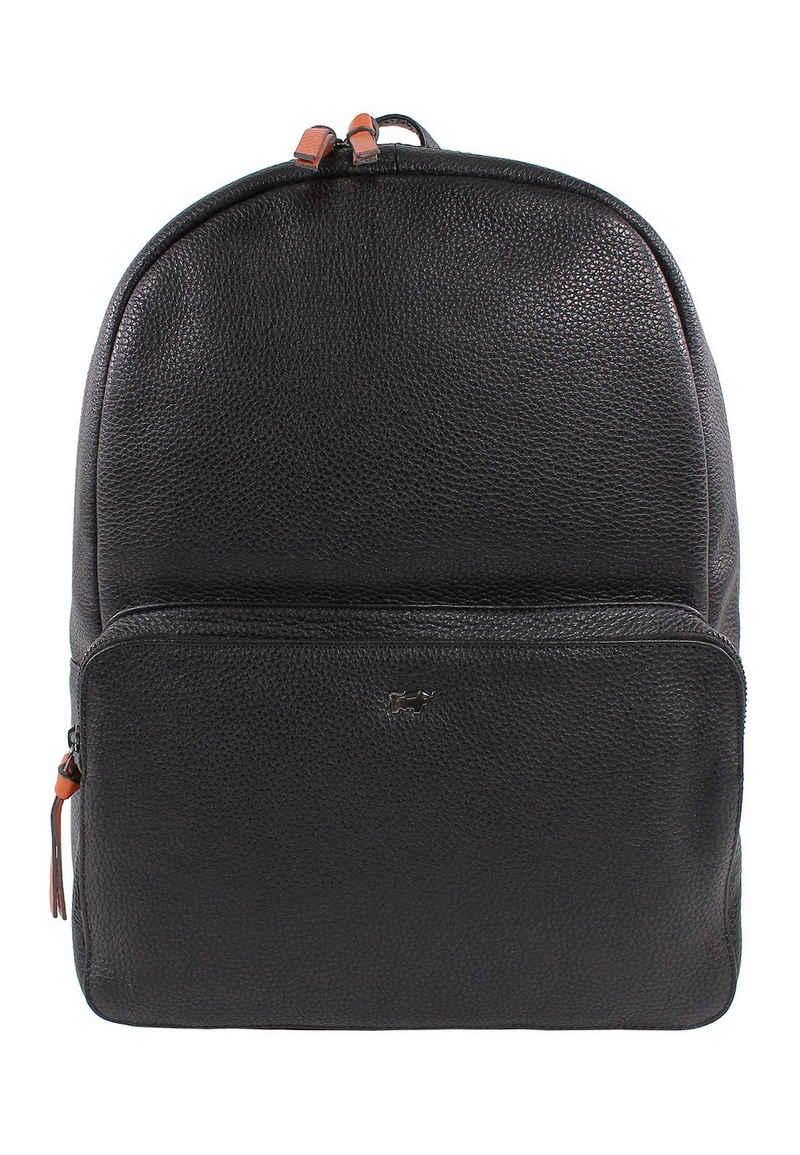 Braun Büffel Notebook-Rucksack »NOVARA Rucksack schwarz«, sportlich-elegant mit Laptopfach