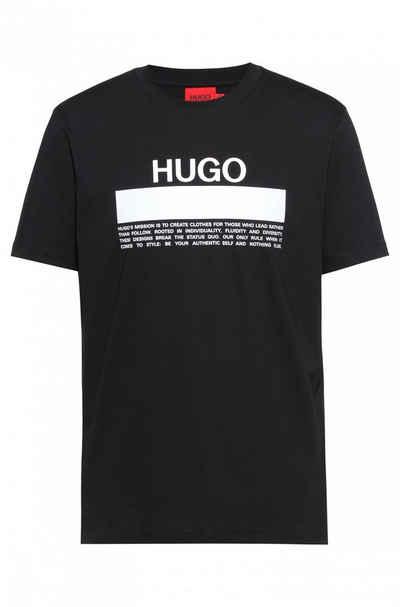 Boss T-Shirt »T-Shirt aus Baumwoll-Jersey mit Manifesto-Logo« (1-tlg)