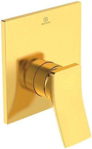 Ideal Standard Brausethermostat »Check« (1-St) Unterputz Bausatz 4, Brushed Gold