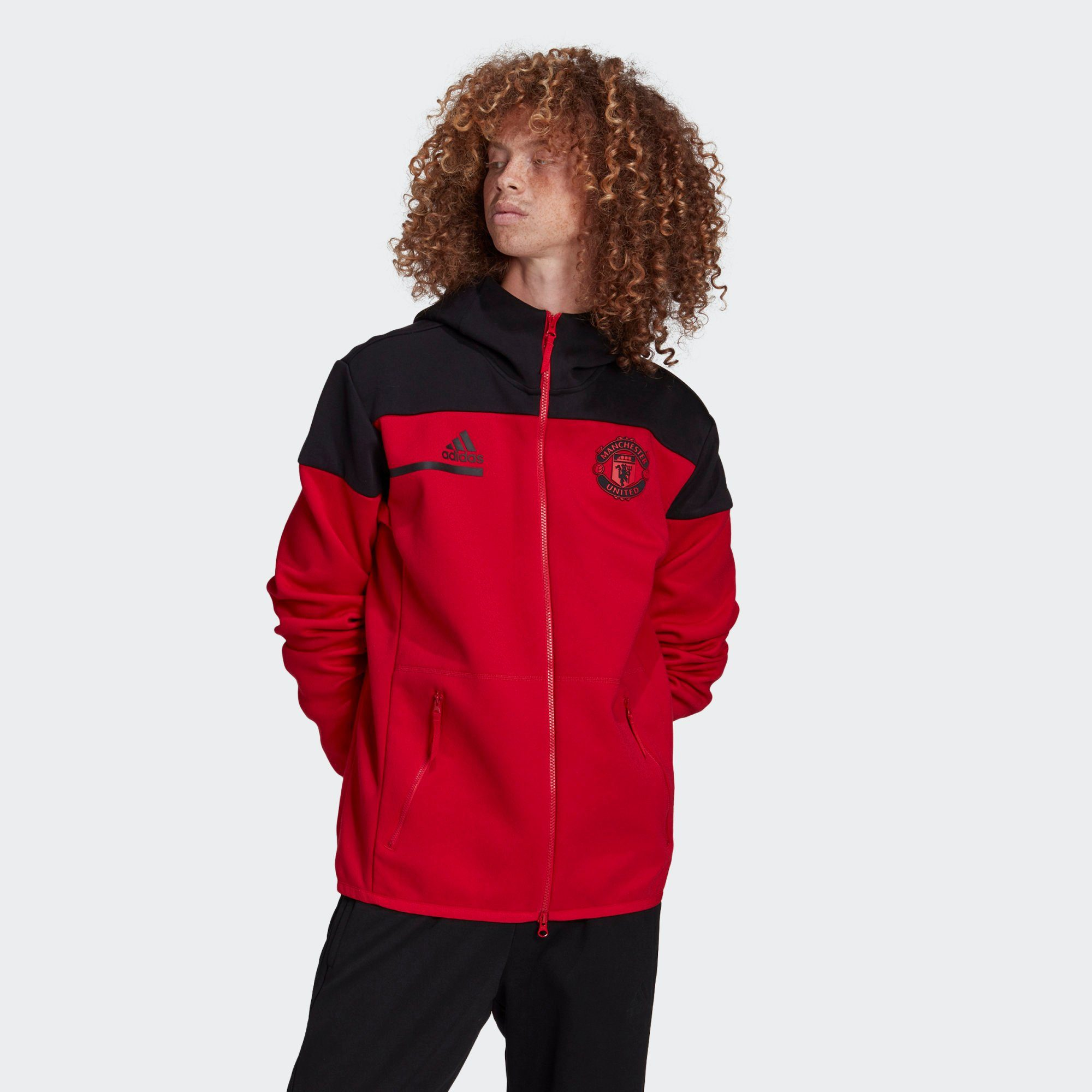 adidas Performance Sweatjacke Manchester United Anthem