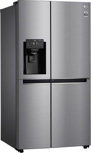 LG Side-by-Side GSJ471DIDZ, 179 cm hoch, 91,2 cm breit, Door-in-Door™