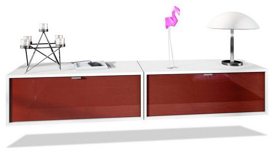 Vladon Lowboard »Lana« (Set, 2 St), Breite 80 cm pro Element