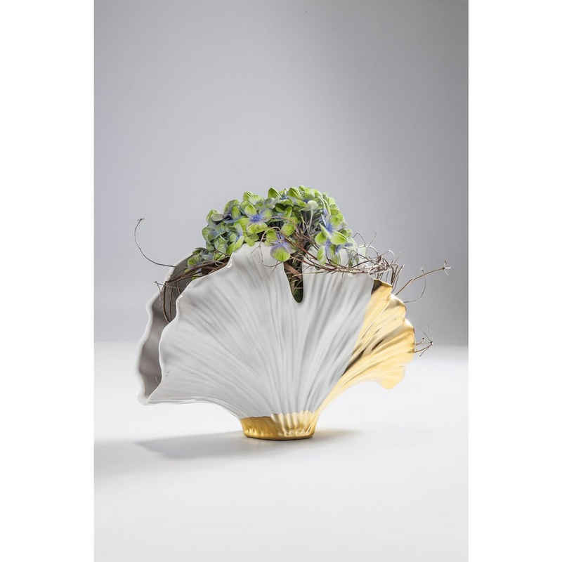KARE Dekovase »Vase Ginkgo Elegance 45cm«