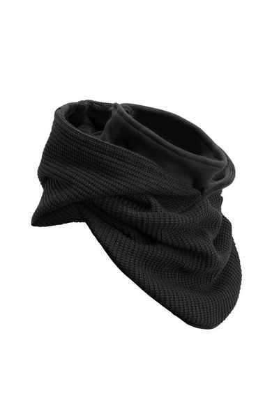 Manufaktur13 Loop »Knit Hooded Loop - Kapuzenschal, Schal, Strickschal« mit integriertem Windbreaker