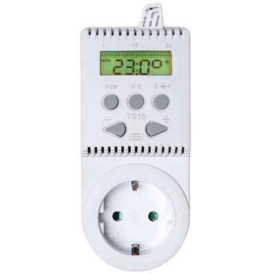 tectake »Thermostat für Steckdose TS10« Smartes Heizkörperthermostat