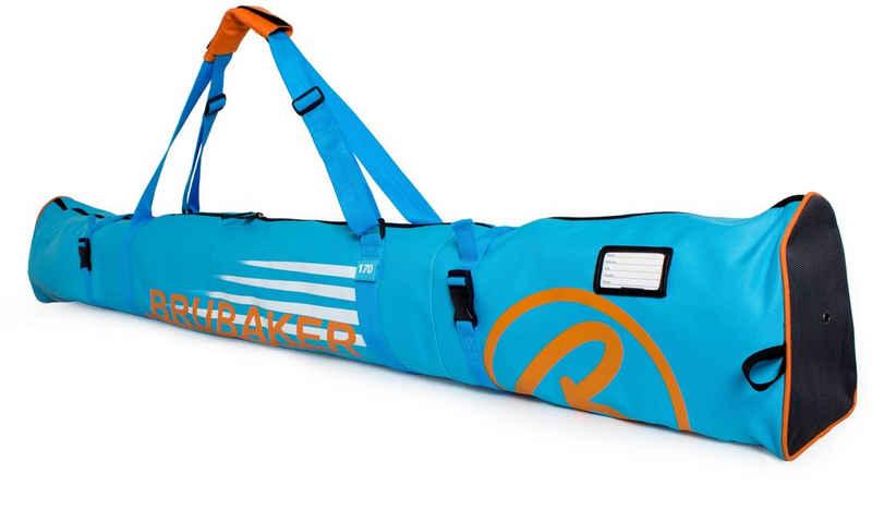 BRUBAKER Sporttasche »Carver Champion Skitasche Blau« (1-tlg., reißfest und schnittfest), gepolsterter Skisack mit Zipperverschluss