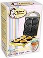 bestron Waffeleisen DSW271GELB Sweet Dreams, 780 W, für Herzwaffeln am Stiel, Retro Design, Bild 4