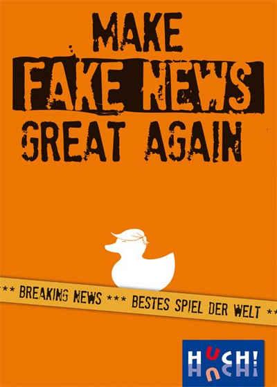 Huch! Spiel, »Make Fake News Great Again«