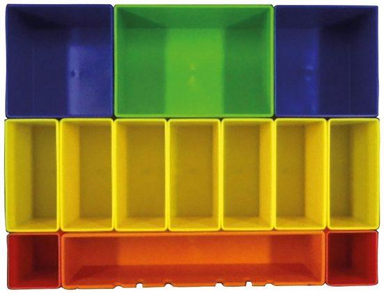Makita Aufbewahrungsbox »P-83652«, farbig mit 13 Fächern
