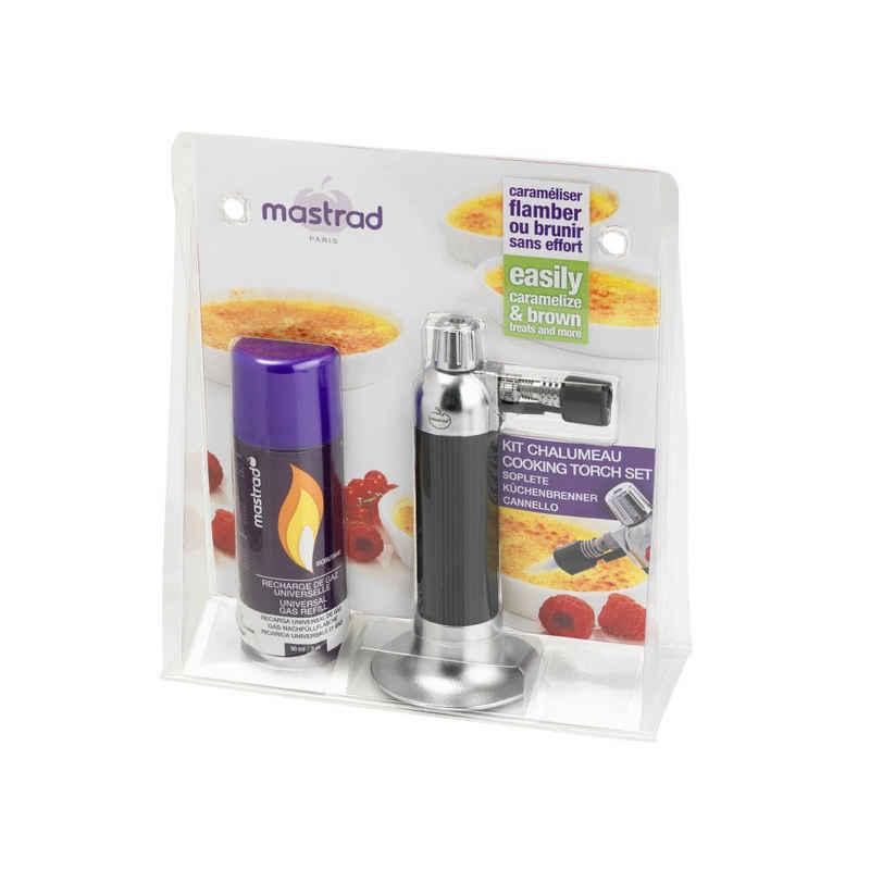 mastrad Flambierbrenner »Küchenbrenner-Set mit Butangas F46060«