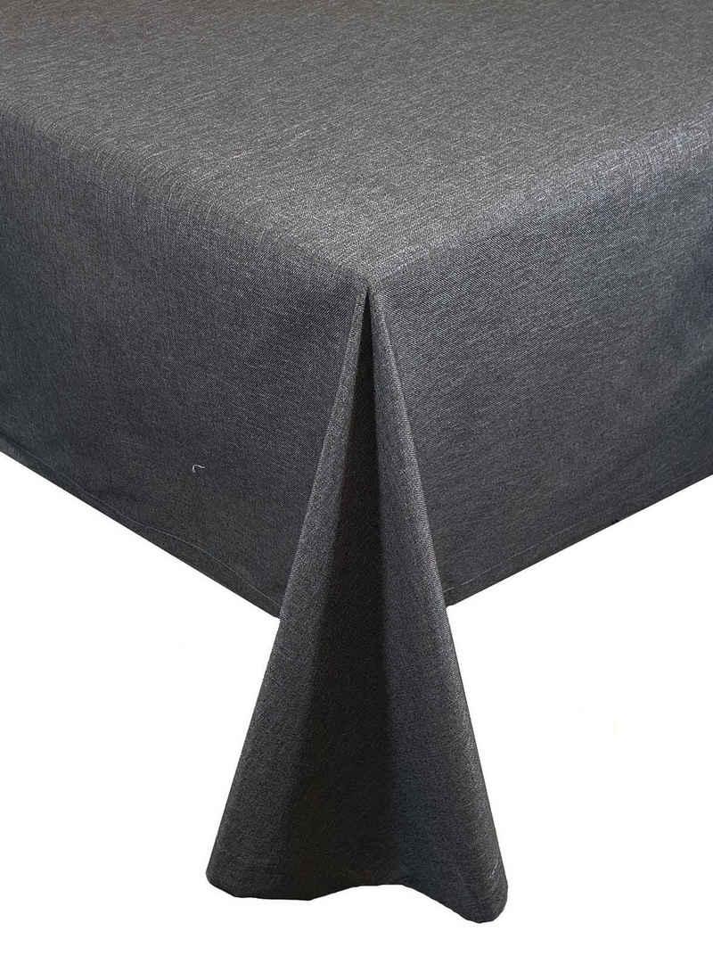 """NEO-24 Tischdecke »Tischdecken-Serie """"Panama Uni"""" wasserabweisend« (1-tlg), mit Fleckschutz, umsäumter Rand"""