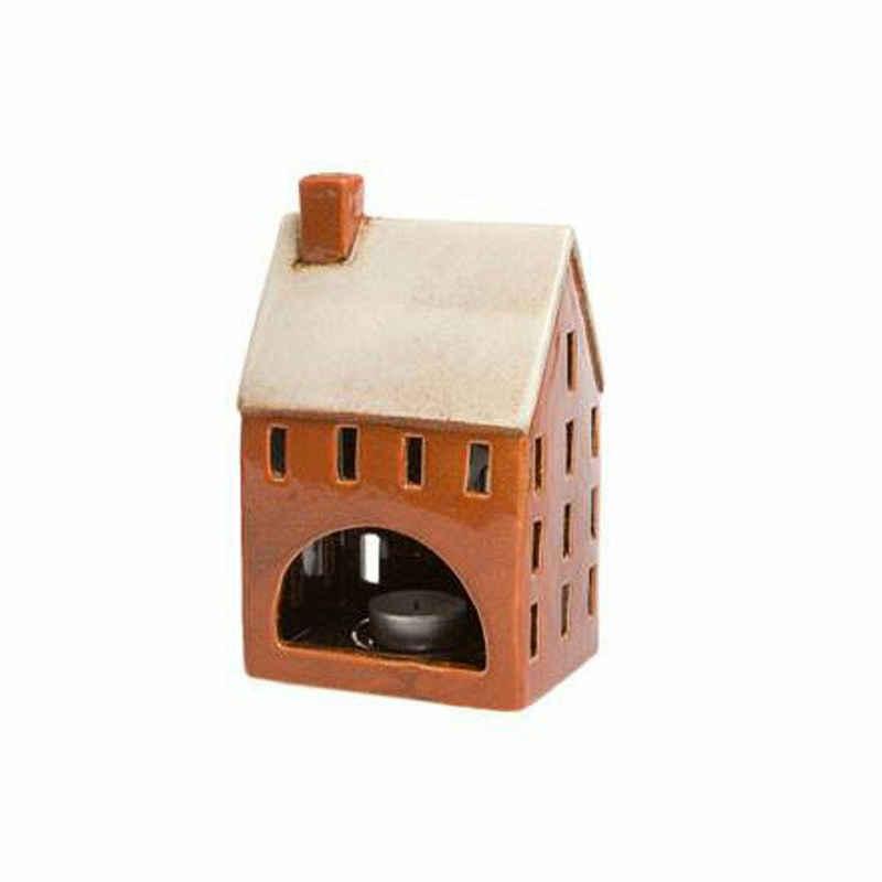 Goebel Windlicht »Aurora Haus Rot«